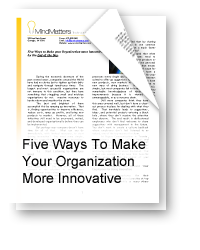 Five Ways to Make Your Organization More Innovative