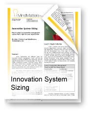 Innovation System Sizing