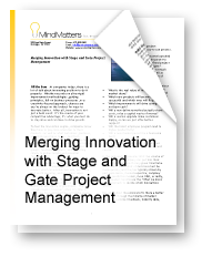 Merging Innovation with Stage and Gate Project Management