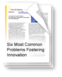 Six Most Common Problems Fostering Innovation