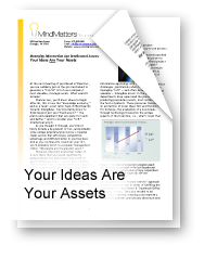 Your Ideas are Your Assets
