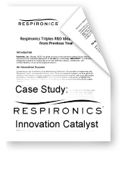 Respironics: Innovation Catalyst