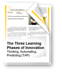 The Three Learning Phases of Innovation